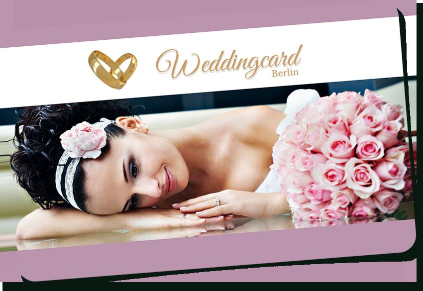 Sparen Sie mit der Weddingcard